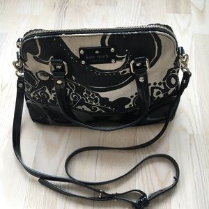 Kate Spade Ivory & Black bag